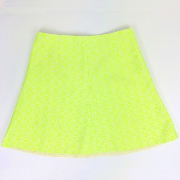 Clothing, Shoes & Accessories J Crew Neon Size 2 A Line Skirt